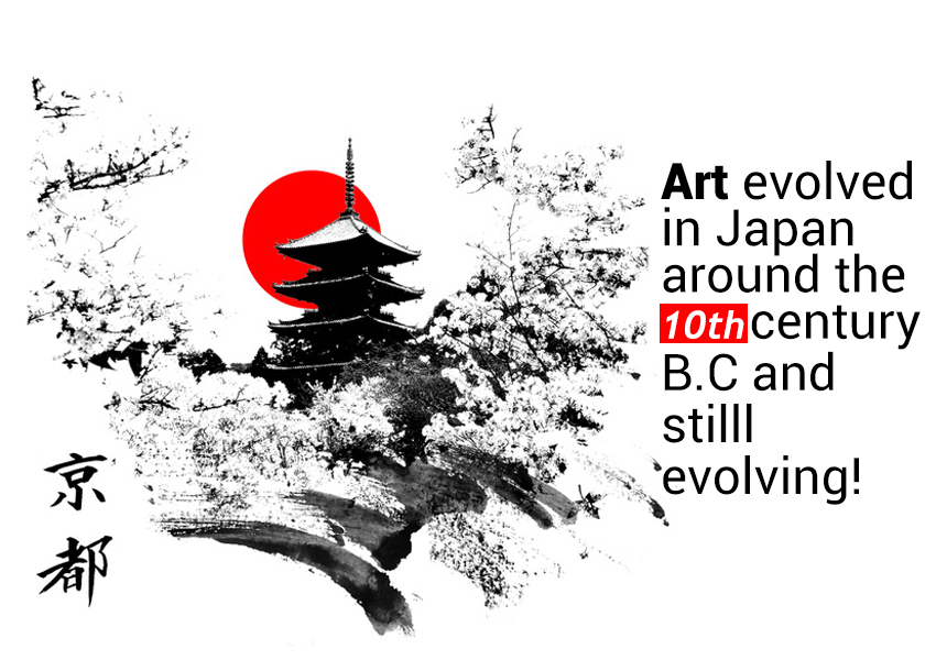 Japan - land of art