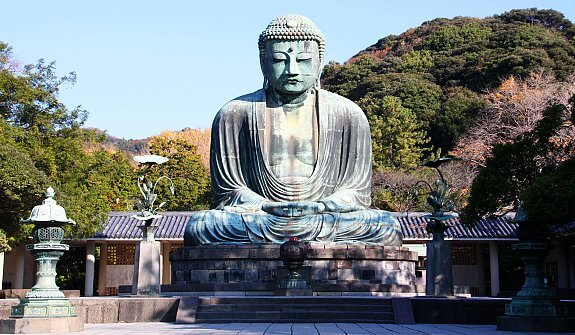 Great Buddha of Kamakura Japan