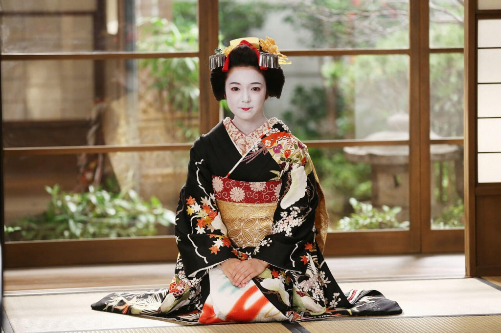 Traditional geisha wedding