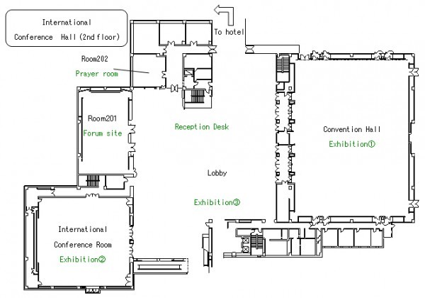 japan halal expo room plan