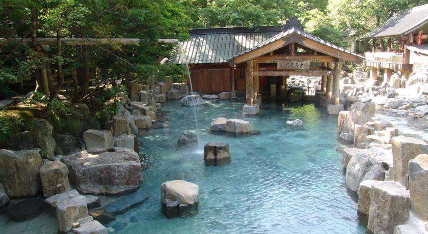 Soothing onsens of japan for Ryokan giappone