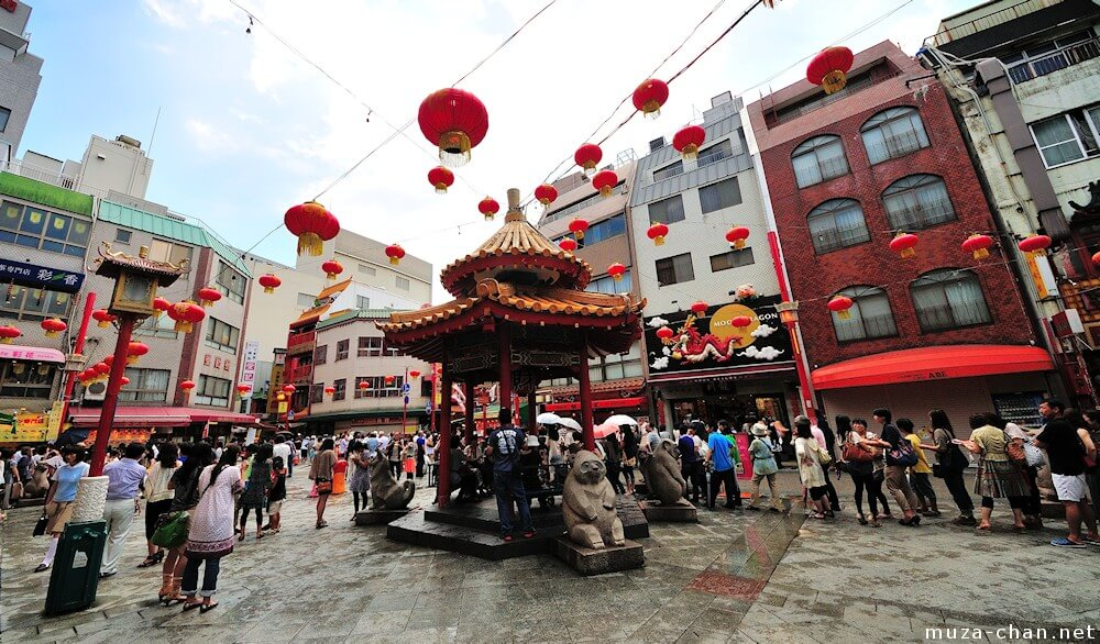 Nankinmachi small china town - youcojapan